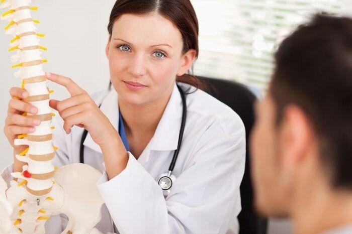 Остеохондроз позвоночника - симптомы и лечение